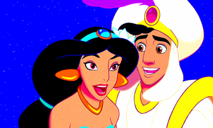 Walt Disney Screencaps - Princess jasmijn & Prince Aladdin