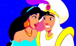 Walt Disney Screencaps - Princess melati, jasmine & Prince Aladdin