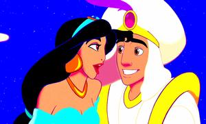 Walt Disney Screencaps - Princess Jasmine & Prince Aladdin