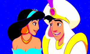 Walt Disney Screencaps - Princess جیسمین, یاسمین & Prince Aladdin