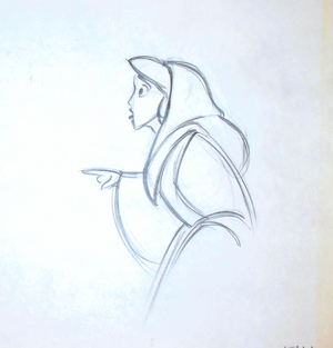 Walt Disney Sketches - Princess jasmin