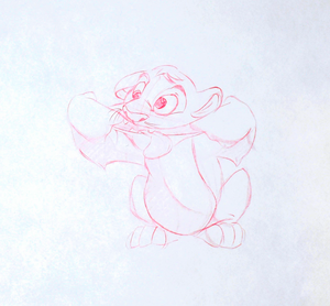 Walt Disney Sketches - Simba