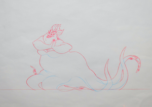 Walt Disney Sketches - Ursula