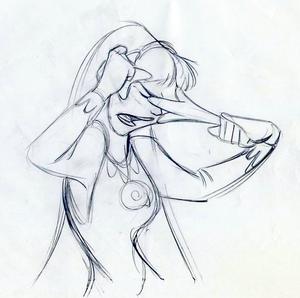 Walt Disney Sketches - Vanessa