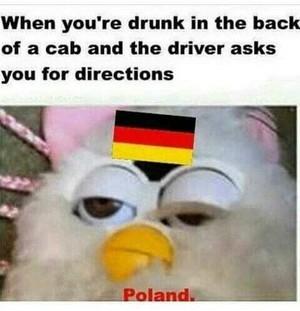 When te are drunk
