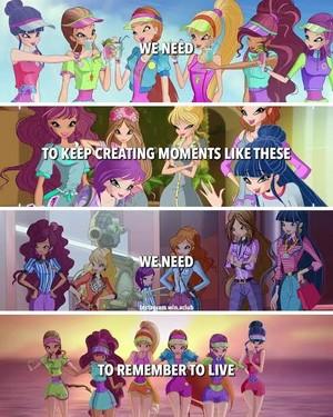Winx Club Flora quotes
