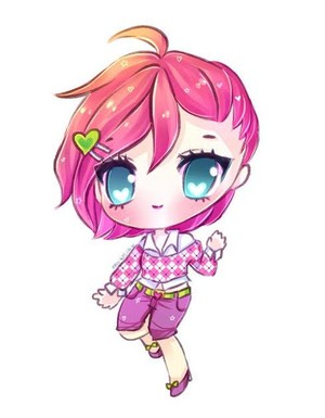 Winx Club Tecna anime (chibbi)