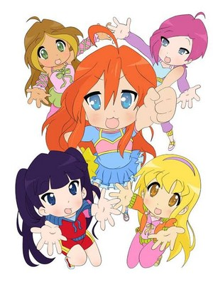 Winx Club in anime style