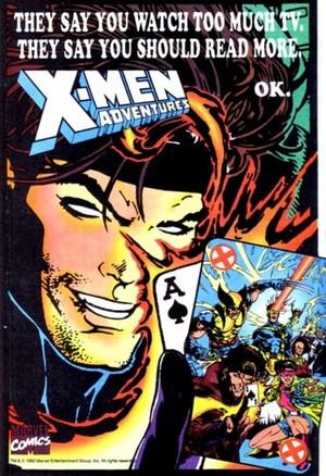 X-Men Adventures ad