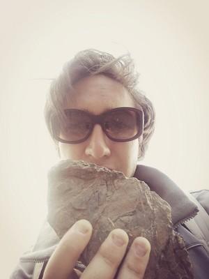 Xlson137: I found a meteorite fragment in my vineyards