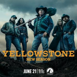 Yelowstone - Season 3 Poster