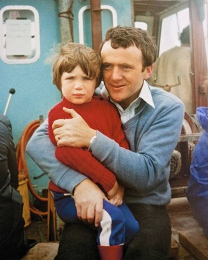 Young Cillian and Father