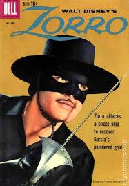 Zorro On The Cover Of disney Magazine