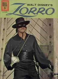 Zorro On The Cover Of Disney Magazine