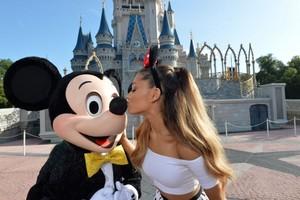 Mickey And Ariana Grande