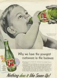 Vintage 7Up Promo Ad