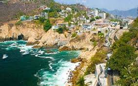 Aerial View Of Acapulco