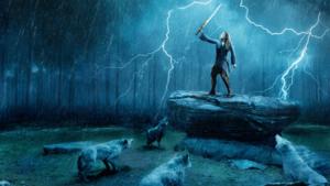 Cursed hình nền - Nimue and the Người sói