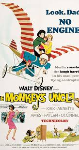 Movie Poster 1965 ডিজনি Film, Monkey's Uncle