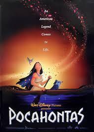 Movie Poster 1995 Disney Film, Pocahontas