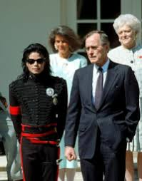 Michael Visiting The White House 1989