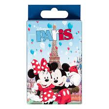 ディズニー Paris Playing Cards