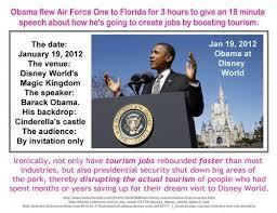 Barak Obama Clipping disney World 2012
