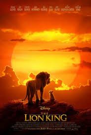 Movie Poster 2019 Disney Film, The Lion King
