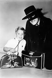 Guy Williams Promoting Zorro Merchandise