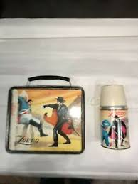 Zorro Lunchbox And Thermos Set