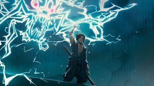 sasuke lightning