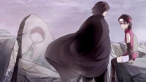 uchiha sasuke and uchiha sarada