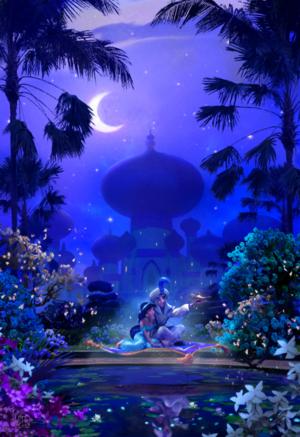 *Aladdin X hoa nhài : Aladdin*