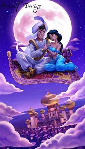 *Aladdin X melati : Aladdin*