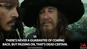 *Barbossa / Sparrow: Pirates of the Caribbean*