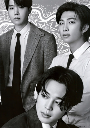 [SCAN] ETHEREAL MEN IN suits | Bangtan Boys X GQ Japão AUGUST 2020