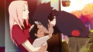*Sakura / Sarada / Sasuke*