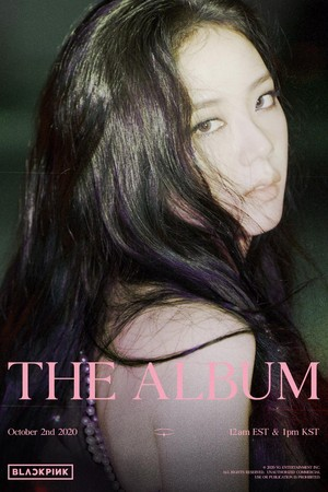 'THE ALBUM' JISOO TEASER POSTER