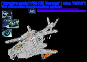 """1-A . ( Gyrodyne mode ) VFH-10B Auroran (a.k.a. """"AGAC"""" )"""