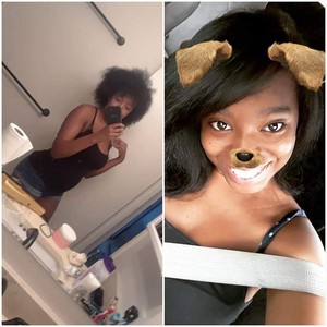 Before/After I Got My Hair Silk Pressed and Trimmed 💁🏾♀️💇🏾♀️ 2018