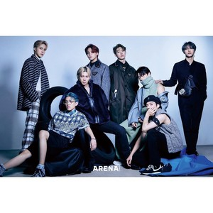 ATEEZ for ARENA Homme Korea 2020 October Issue