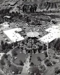 Aerial View Of Disneyland