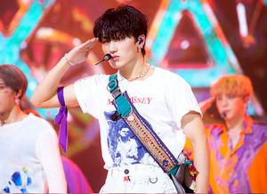 Ateez at SBS Inkigayo