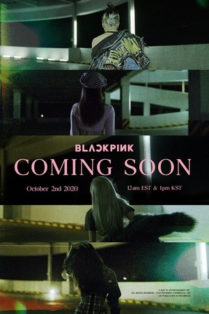 BLACKPINK - COMING SOON POSTER