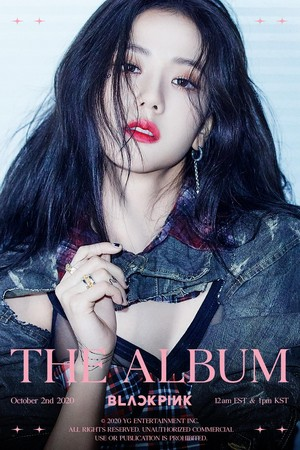BLACKPINK - 'THE ALBUM' JISOO TEASER POSTER