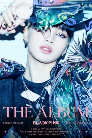 BLACKPINK - 'THE ALBUM' LISA TEASER POSTER