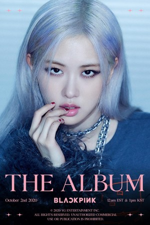 BLACKPINK - 'THE ALBUM' ROSÉ TEASER POSTER