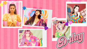 BLACKPINK X SELENA GOMEZ - 'Ice cream' D-day Poster