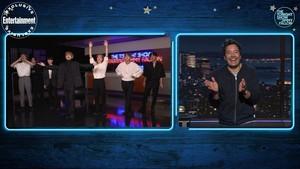 बी टी एस WEEK on The Tonight दिखाना with Jimmy Fallon