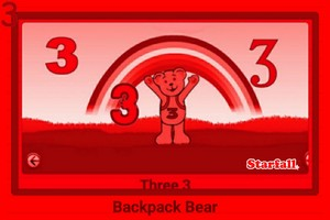 Backpack भालू